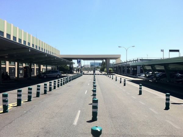 Rampe des Flughafens von Santiago de Compostella - mit genialem Revenue Management Pricing Konzept