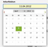 Neues Datumsselektions Tool in der igumbi online Hotelsoftware