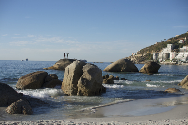 Clifton 4th Beach- die Granit Felsen, Kapstadt