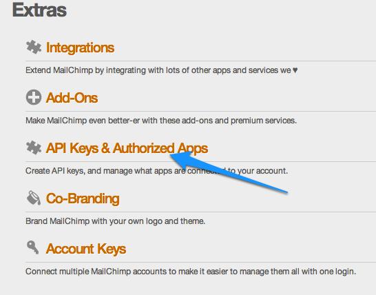 Mailchimp- Einstieg zu API Key Verwaltung #crm #newsletter #mailchimp