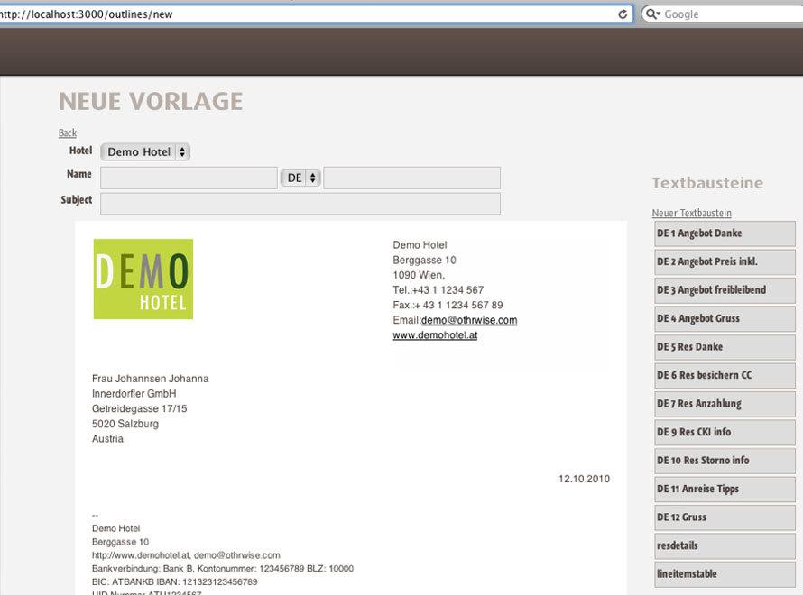 Mehrspachige Hotel E Mail Vorlagen Und Textbausteine