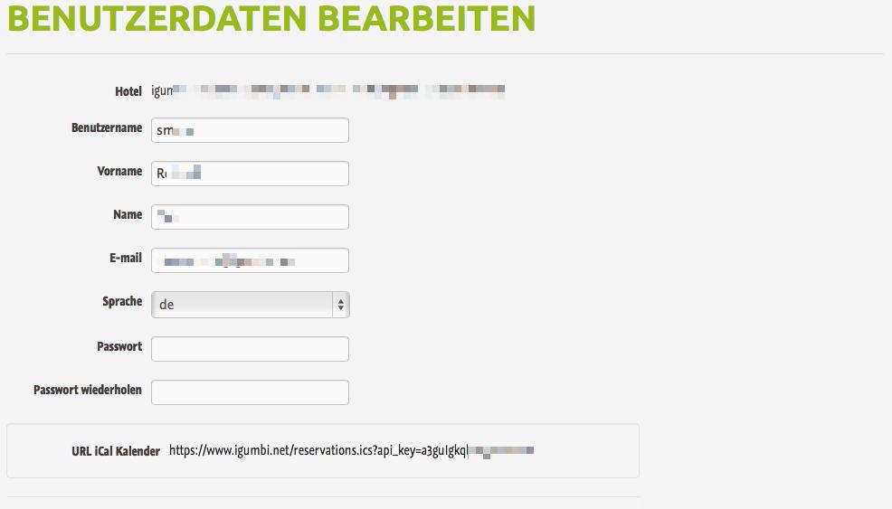 iCal Feed mit allen Reservierungen. Den URL für den Kalender gibt es bei den Benutzer Einstellungen.
