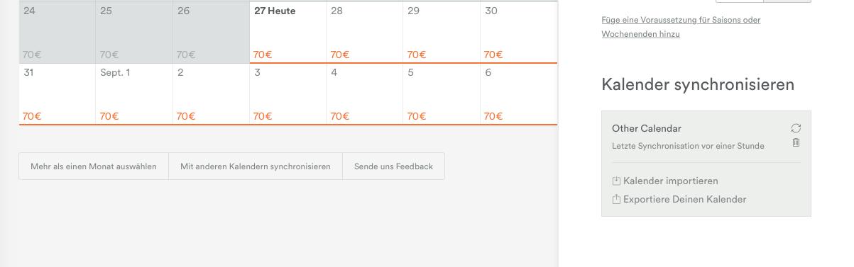 Airbnb Reservierungen Aus Dem Ical Kalender Feed Importieren