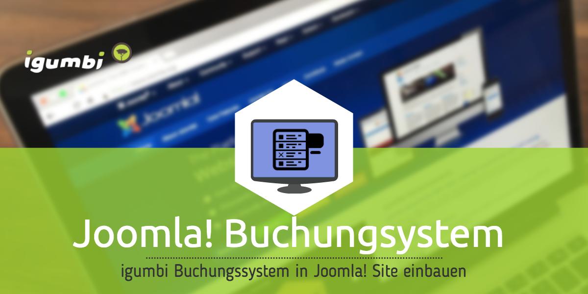 Das igumbi Buchungssystem in eine Joomla! Fewo oder Hotel Website einbauen mit dem Joomla! Modul und Plugin. Als Joomla! Paket das Hotelbuchungssystem für die eigene Website laden.